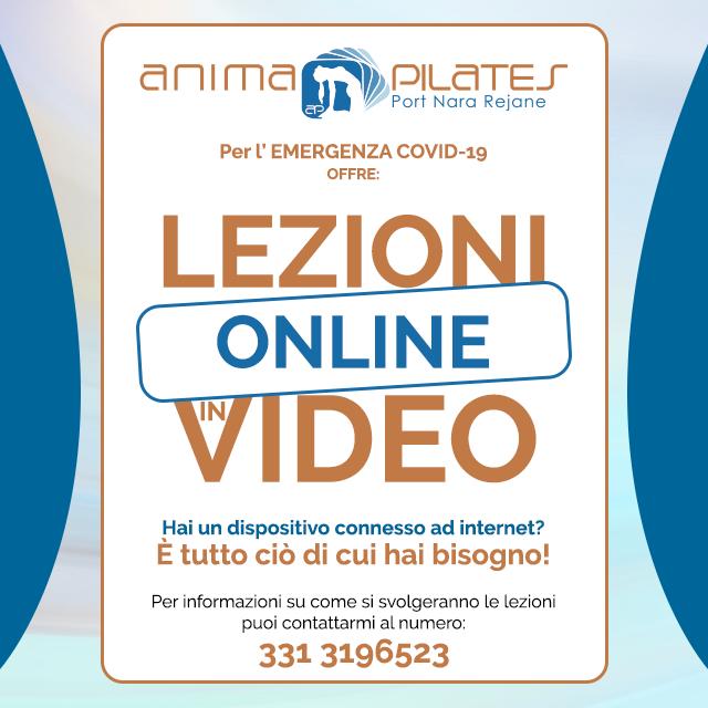 Banner video lezione online